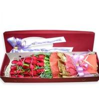 빨간장미 꽃상자
