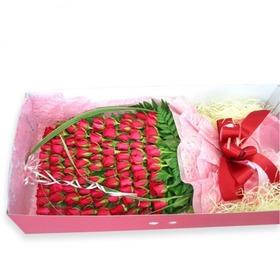 빨간장미 100송이 상자